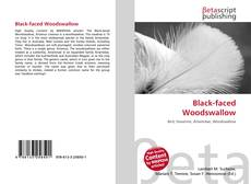 Обложка Black-faced Woodswallow