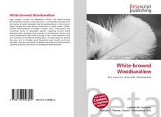 Обложка White-browed Woodswallow