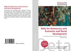 Bookcover of Rally for Democracy and Economic and Social Development