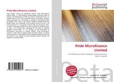 Pride Microfinance Limited的封面