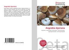 Capa do livro de Angrobia dyeriana