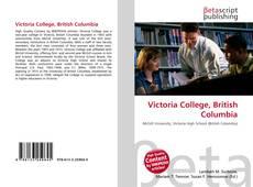 Bookcover of Victoria College, British Columbia