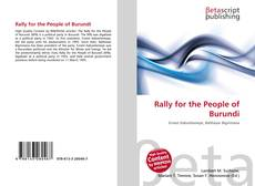 Bookcover of Rally for the People of Burundi