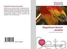 Magnificent Bird-of-paradise kitap kapağı