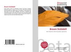 Bookcover of Brown Sicklebill