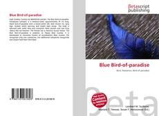 Blue Bird-of-paradise kitap kapağı