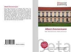 Bookcover of Albert Zimmermann