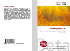 Bookcover of Tommy Lioutas