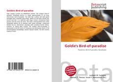 Goldie's Bird-of-paradise kitap kapağı