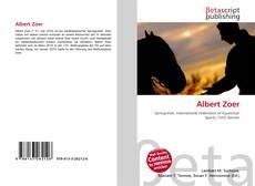 Bookcover of Albert Zoer