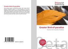 Greater Bird-of-paradise kitap kapağı