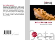 Copertina di Red Bird-of-paradise
