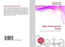 Copertina di Rally of Democratic Forces