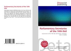 Buchcover von Parliamentary Secretaries of the 10th Dáil