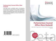 Bookcover of Parliamentary Counsel Office (New Zealand)