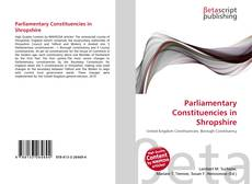 Bookcover of Parliamentary Constituencies in Shropshire