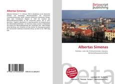 Buchcover von Albertas Simenas