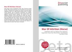 Bookcover of War Of Attrition (Horse)