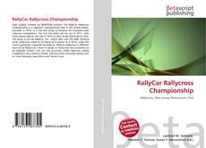 Capa do livro de RallyCar Rallycross Championship