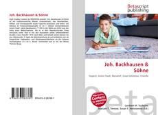 Buchcover von Joh. Backhausen & Söhne