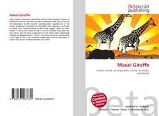 Masai Giraffe kitap kapağı