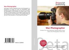 Couverture de War Photographer