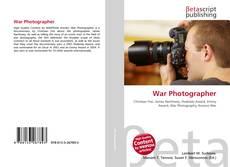 Обложка War Photographer