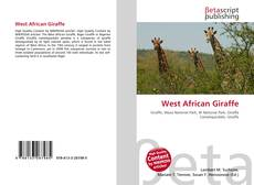Bookcover of West African Giraffe