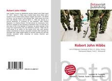 Robert John Hibbs kitap kapağı