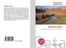 Bookcover of Albertina Dias