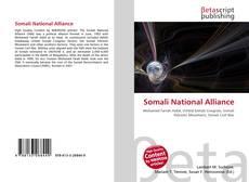 Bookcover of Somali National Alliance