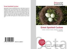 Bookcover of Great Spotted Cuckoo