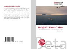 Bookcover of Hodgson's Hawk-Cuckoo