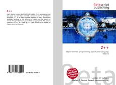 Bookcover of Z++