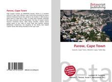 Portada del libro de Parow, Cape Town