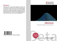 Albertinus kitap kapağı
