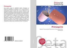 Bookcover of Primaquine