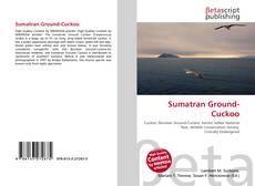 Bookcover of Sumatran Ground-Cuckoo