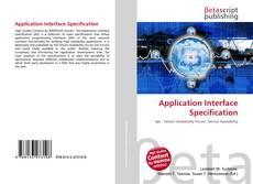 Capa do livro de Application Interface Specification