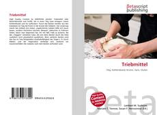 Bookcover of Triebmittel