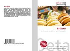 Portada del libro de Bäckerei