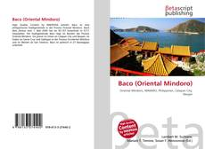Bookcover of Baco (Oriental Mindoro)