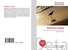 Bookcover of Plaintive Cuckoo