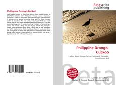 Bookcover of Philippine Drongo-Cuckoo