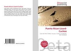 Bookcover of Puerto Rican Lizard-Cuckoo