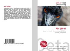 Bookcover of Ani (Bird)