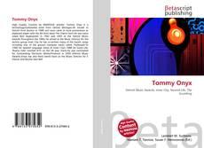 Portada del libro de Tommy Onyx