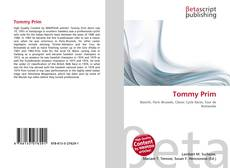 Bookcover of Tommy Prim