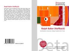 Обложка Ralph Baker (Halfback)