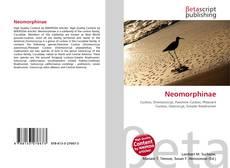 Capa do livro de Neomorphinae